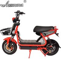 ASSMMA electric bike two person saddle R&F shock absorber electric motorcycle for adult riding