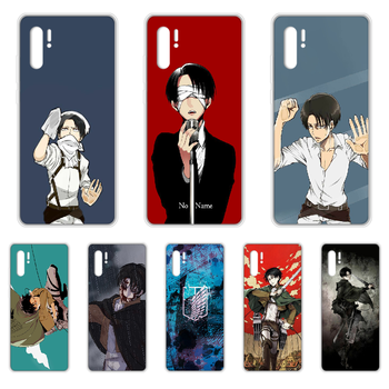 Attack on Titan Levi Rival Phone Case cover hull For SamSung Galaxy note A 5 7 71 8 10 20 30 40 50 70 80 e plus transparent image