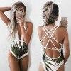 2021 Women's Sexy Bikini Beach Swimsuit Monokini Push Up 2
