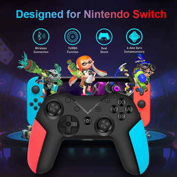 Bluetooth Wireless Gamepad For Nintendo Switch Pro NS-Switch Pro Game Joystick Controller For Switch Console 6-Axis Handle 2020 new bluetooth wireless gamepad for nintendo switch pro controller for nintend switch console game joystick for android pc handle