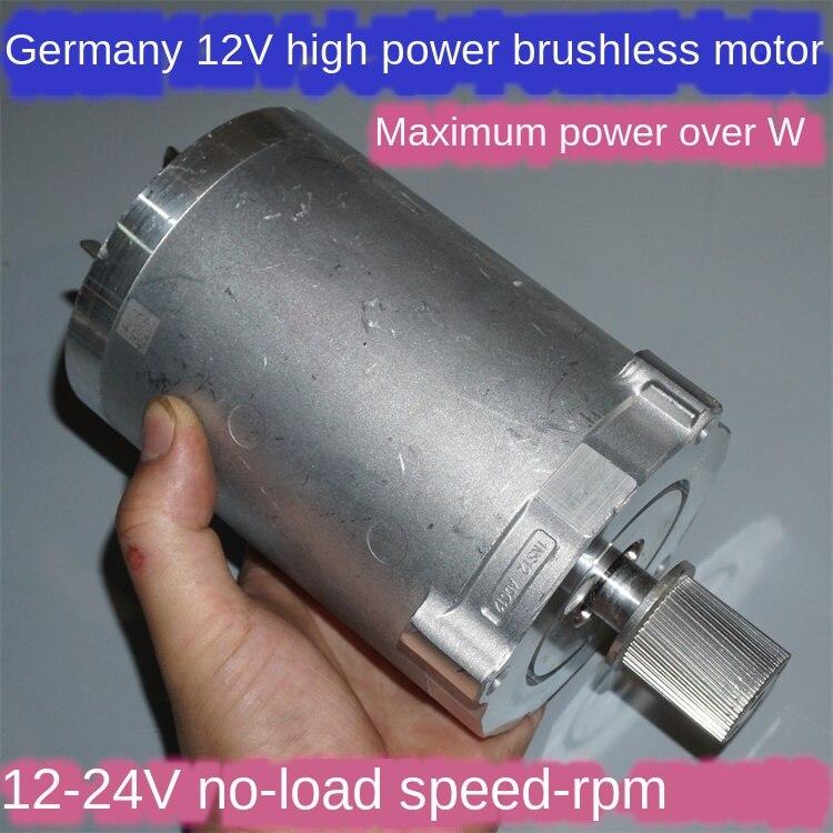 High-power 12V-24V 2100rpm-4300rpm More Than 1000W High-power Brushless Motor Propeller Retrofit Large Models