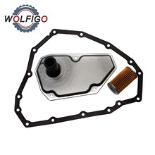 WOLFIGO RE0F11A JF015E 닛산 미쓰비시 스즈키 용 오일 필터 및 팬 가스켓 33010 JF015 31728 3JX0C 31728 3XX0B 31397 3JX0A