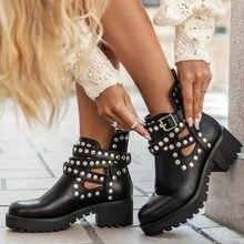 Perçin 2021 kadın sonbahar çizmeler el işi açık platformu ayakkabılar saf renk moda şövalye konfor artı 41 kadın ayakkabı