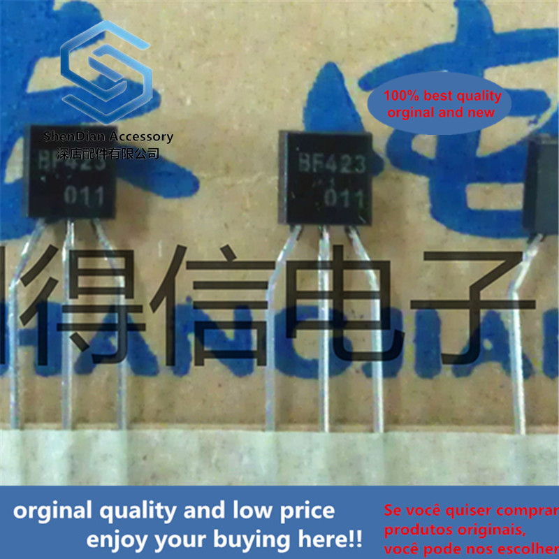 30pcs 100% Orginal New BF423 F423 423 To-92 PNP Silicon Transistors  Real Photo