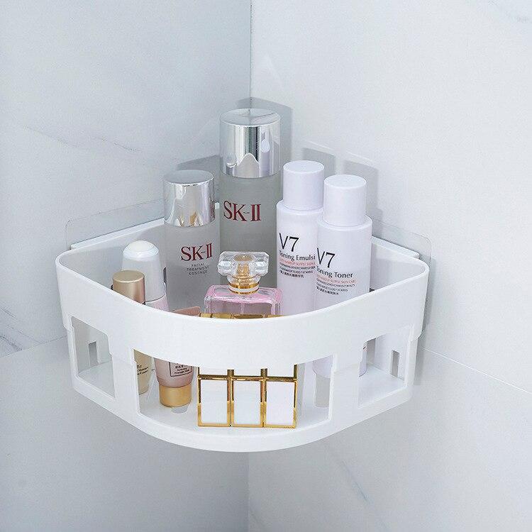 Вешалка для ванной комнаты дыропробивная seamless xi bi промытая полка для хранения расходных материалов ванная комната стеллаж для хранения