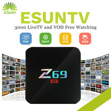 Z69 With 1 Year ESUNTV 4000+Europe IPTV Arabic Spain UK French Germany Italy Netherland Sweden Portugal EX-YU xxx USA with VOD(China)