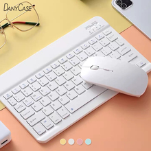 Bluetooth Keyboard Tablet Phone Rubber Keycaps Windows iPad Android Mini for Rechargeable