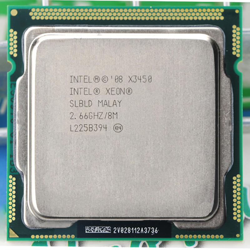 For INTEL XEON X3450 CPU Quad-Core 8M 95W 2.66GHz Socket LGA1156 CPU
