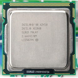 INTEL XEON X3450 CPU Quad-Core 8M 95W 2,66 GHz Socket LGA1156 CPU