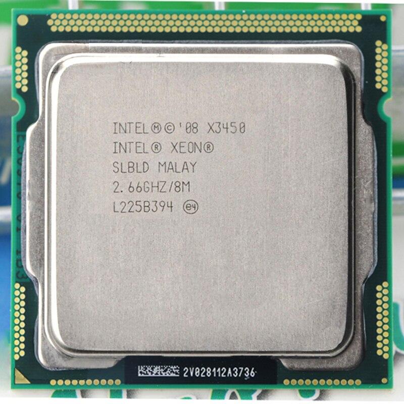 Bilgisayar ve Ofis'ten İşlemci'de INTEL XEON X3450 CPU dört çekirdekli 8M 95W 2.66GHz soket LGA1156 CPU title=