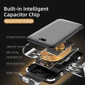 Image 2 - Ihaitun Reizen Auto Snelle Draadloze Auto Quick 10W Lading 4.0 Telefoon Opladen Dock Station Power Smartphone Oplader Voor Huawei honor