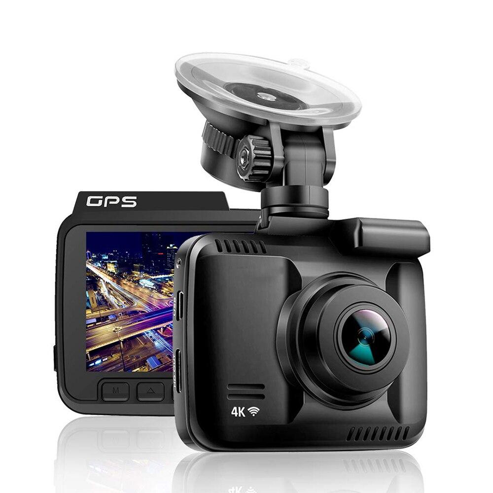 GS63H 4K grabadora de vídeo del coche GPS coche DVR Cámara Wifi Full cámara HD Dash coche Video vigilancia HDMI Auto cámara HD Cámara espejo