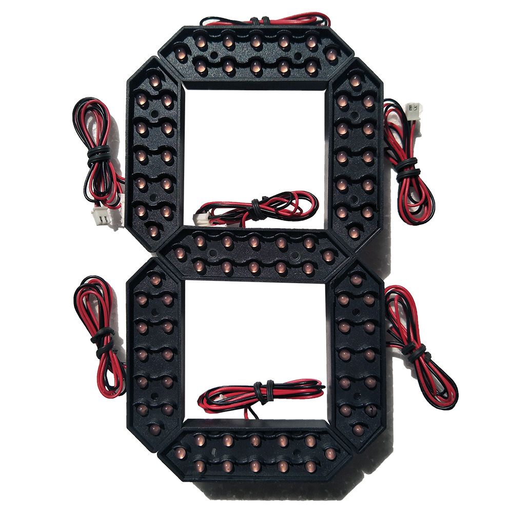 """Image 2 - 10"""" Red Color Digita Numbers Display Module LED Signs 7 Segment Of the Modules, 7 Segment LED Gas Price Module-in LED Displays from Electronic Components & Supplies"""
