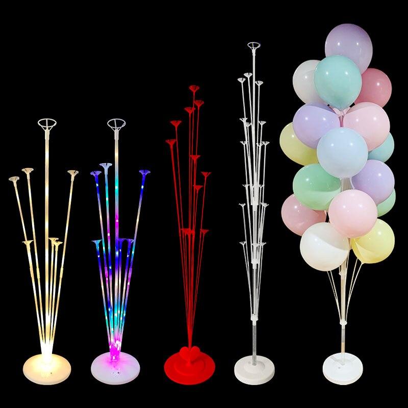 Balões de apoio para festas, 78/130/160cm, balões de coluna para decoração de festa de aniversário, decoração para crianças e adultos, decoração de casamento, suprimentos para festa de despedida de solteira