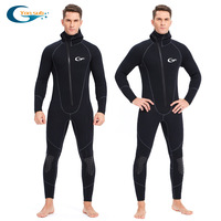 Full body 5mm Neoprene Wetsuit Surfing Swimming Diving Suit Triathlon Wet Suit for Cold Water Scuba Snorkeling Spearfishing