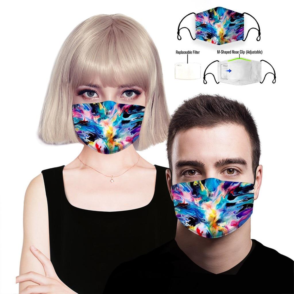Hc38f0425dfc24943af6d85e95b326c4bb adult facemask flower print adjustable cotton maske mondkapje maska tapabocas dropshipping