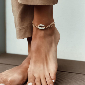 Natural Shell Chain Anklet Jewelry Anklets