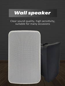 Music-Player Speakers PA Background Wall-Mount Public Waterproof 20W Stereo Deck Sound-Box
