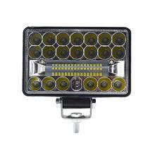 Luz de trabajo Led coche doble lámpara 60 w resaltar Off-Road coche de techo reflector mantenimiento lámpara auxiliar de la linterna del coche