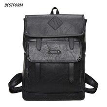 2019 Men Backpack Leather Male Travel Bag Backpacks Fashion Men And Women Designer Student Bag Laptop Bag High Capacity Backpack