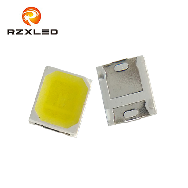 500pcs/lot <font><b>LED</b></font> <font><b>1W</b></font> 2W 2835Package <font><b>3V</b></font> Cold White 13000K Diode For TFT TV Backlight image
