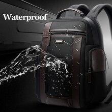 BOPAI, новинка, средний дорожный рюкзак, черный, для мужчин, водонепроницаемый, 15,6 дюймовый, компьютерный рюкзак, сумки, сильный Оксфорд, для повседневного использования, Mochilas