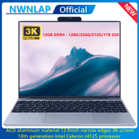 12GB RAM 128GB/256GB/512GB SSD 2021 NEW 13.9 Inch Intel J4125 Up to 2.7GHz Quad Core Aluminum alloy material Notebook Computer 1