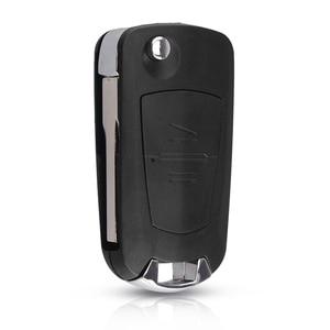 Image 2 - Dandkey 2 Knop Gemodificeerde Auto Flip Afstandsbediening Sleutel Shell Voor Vauxhall Opel Astra Zafira Vectra Omega (HU100/HU46/HU43/YM28) key Case
