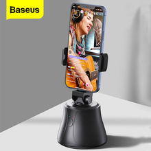 Baseus Selfie Stick Tripod Bluetooth 360 Rotation Auto Tracking Smart Shooting Monopod Tripod for iPhone Cell Phone Smartphone