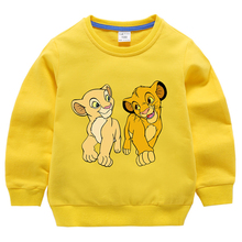 2020 Fall Kids Clothing  King of Lion Guard Boys Girls Cosplay Clothes Long sleeve Sweatshirts T-shirt Outfits Tops