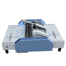 цена на Creasing Machine Automatic Electric A3 Paper Folding Machine Stapler and Folding Binding Machine Electric Folding Machine