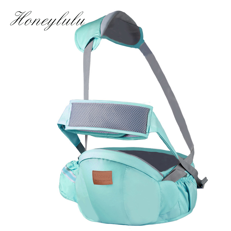 Honeylulu Seat Belt Waist Stool Sling For Newborns Breathable Kangaroo For Baby Ergoryukzak Hipsit Baby Carrier Backpack Hipseat