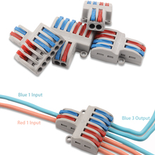 Fast-Wire Connector Conductor-Terminal-Block Wiring-Cable Push-In Universal Mini YOU