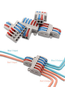 Fast-Wire Connector Conductor-Terminal-Block Wiring-Cable Push-In Mini SPL-42/62 Universal