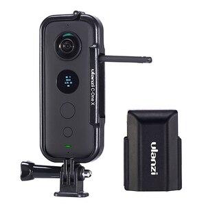 Image 1 - Cadre de étui de protection en plastique Ulanzi pour Insta 360 une X Cage de boîtier avec capuchon dobjectif de caméra