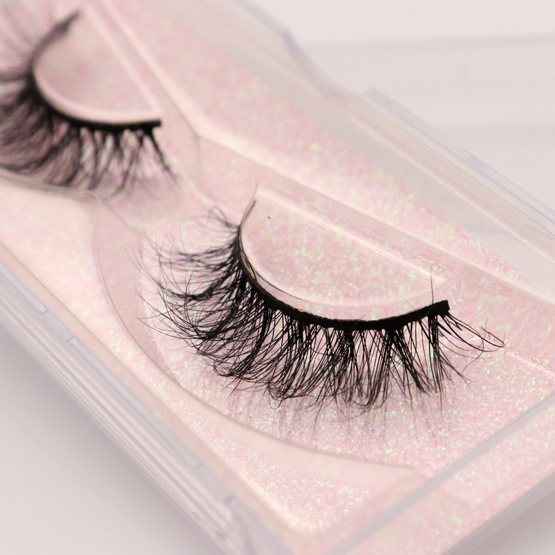 Mink Lashes 3D Mink Eyelashes 100% Cruelty Free Lashes Handmade Reusable Natural Eyelashes Popular False Lashes Makeup E1- E13