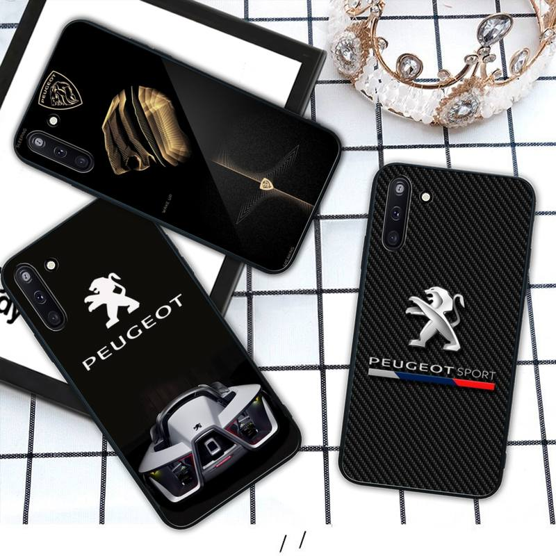 Dongfeng Peugeot car logo mobile phone cover case for Samsung ...