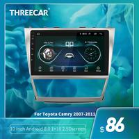 10 inch Android 8.1 For 2007~2011 Toyota Camry Car GPS Navigation wifi car DVD Multimedia Player Support Radio Mirror Link