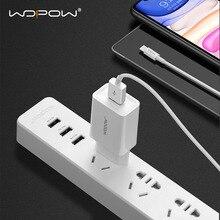 Wopow carregadores usb de 2,1a, mini carregador de parede portátil para celular iphone, xiaomi, samsung, huawei