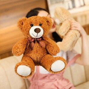 35 см милый разноцветный галстук бабочка Медведь кукла плюшевая игрушка медведь медвежьи куклы для детей подарок на день рождения Детские домашние тапочки в стиле плюшевого мишки гостиной и спальни|Мягкие игрушки животные|   | АлиЭкспресс