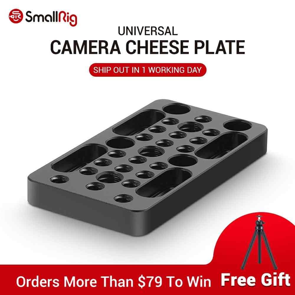 SmallRig Video Switching serowa kamera na tablicę rejestracyjną łatwa płyta do bloków szynowych, jaskółczy ogon i krótkie pręty do ramka do kamery DSLR Rig 1598