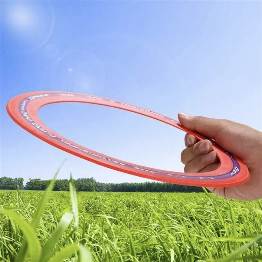 Flying Disc Flying Ring Saucer Outdoor Leisure Outdoor Game Play Beach Flying Disc For Kids Toy Flying Rings Fly Straight Toy