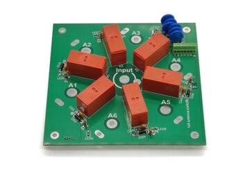 6-way DIY Kit 6:1 Coax Remote Antenna Switch SO-239 1.8MHz--60MHz 1