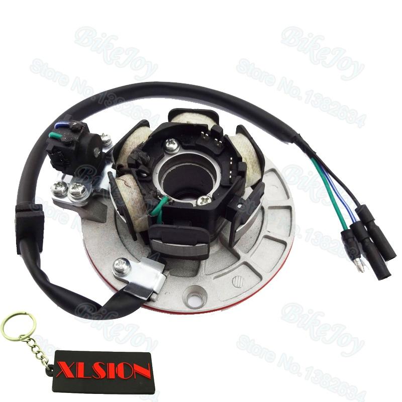 YX140/150/160 Магнитный статор светильник для YX 140cc 150cc 160cc питбайка Minicross PitsterPro Stomp Orion SDG Atomic SSR