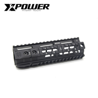 XPOWER Rail System 4/7/9/12inch Keymod M-LOK Handguard For AEG Airsoft Air Guns Paintball Gel Blaster Hunting Accessorie
