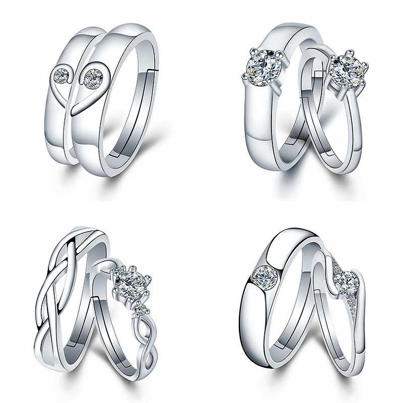 1pcs Lovers Rings For Men And Women Party Favors Gift For