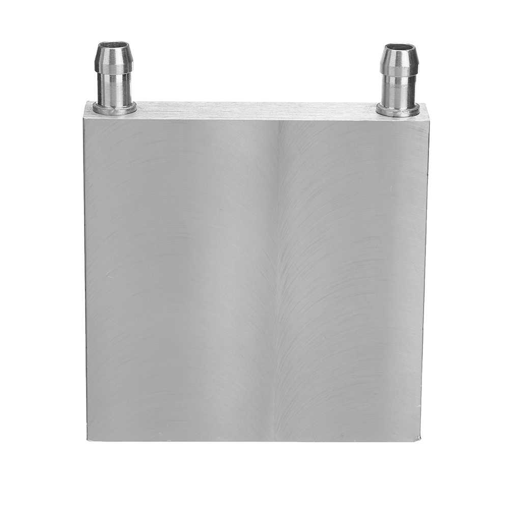 80x80x15mm Aluminum Water Cooling Block Semiconductor For CPU Radiator Heatsink