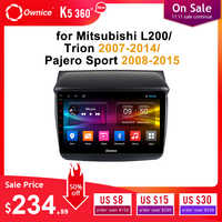 Ownice Android 9,0 de Audio de coche para MITSUBISHI L200 Trion 2007-2014 Pajero Sport 2008-2015 reproductor de dvd GPS Navi 8 Core DSP óptico