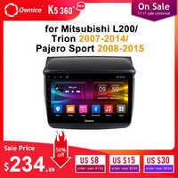 Ownice Android 9.0 samochodowy sprzęt audio dla MITSUBISHI L200 Trion 2007-2014 pajero sport 2008-2015 dvd odtwarzacz gps Navi 8 rdzeń DSP optyczny