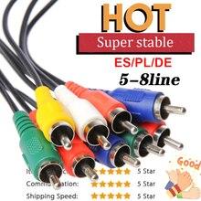 36M AV cable 8 lineas for Europe DVB-S2 Satellite GTmedia V8 Nova
